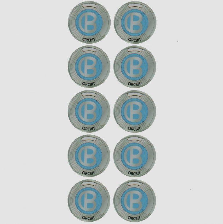 CircBit Sticker Small x 10